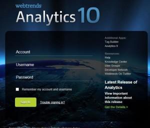 Webtrends Analytics10